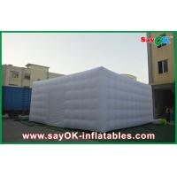 Wholesale Portable Giant White Nylon Cloth Inflatable Air Tent , 3m Channel from china suppliers