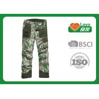 Wholesale Casual Multi - Pockets Hunting Camo Pants For Men Breathable from china suppliers