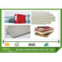 Wholesale 800gsm 1.5mm Grey Board Paper Sheet Single layer of Recycled Mixed Pulp from china suppliers
