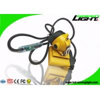 China Anti-explosive Rechargeable 10.4Ah Mining Hard Hat Light 490g 25000lux High Beam on sale