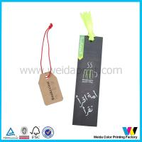 Wholesale Garment / Shoes / bag Price Printable Paper Hang Tag with Single Matt Finish from china suppliers