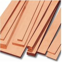 Wholesale Professional ASTM / JIS , Din 80 - 400mm Copper Flat Bar For Conveyors , Port Cranes from china suppliers