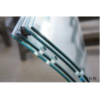 Quality China curve tempered glass factory hot bent glass price 4-19mm for sale