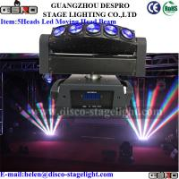 Wholesale Portable LED Moving Head Beam Wedding Decoration Rotating Stage Light from china suppliers