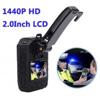 Wholesale Full HD 1440P Waterproof  Police 4G Wearable Video Camera With GPS WIFI from china suppliers