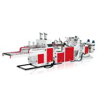 Wholesale Steel Full Automated Vest Bag Making Machine 5Kg / Cm² Air Pressure from china suppliers