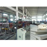 Wholesale PU sandwich panel production line sheet metal roofing polyurethane foam wall panel from china suppliers
