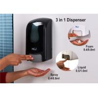 Wholesale Hospital Refillable Hand Sanitizer Dispenser Adjustable With Smoky Window from china suppliers