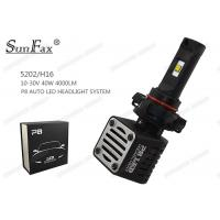 Wholesale 5202 / H16 4000LM Automotive LED Headlights 40w With Philips Lumileds MZ Chip from china suppliers