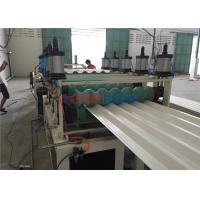 Wholesale ASA / PVC Hollow Roof Sheet Making Machine with Twin Wall Plastic Extrusion from china suppliers