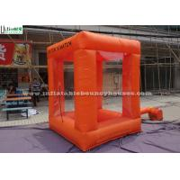 Wholesale Crazy Funny Cash Cube Inflatable Game For Indoor N Outdoor Activities from china suppliers