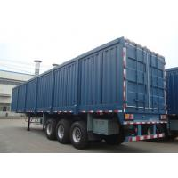Wholesale OEM 3 Axles box semi trailer , low bed stepwise cargo semi trailer from china suppliers