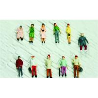 Wholesale 1:150 Architectural Scale Model People Painted Female Figures 1.3cm from china suppliers