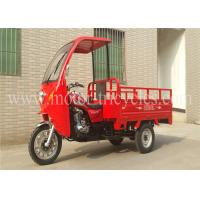 Wholesale Gas / Petrol Cabin Cargo Motor Tricycle Motorized Trike 80km/h Max Speed from china suppliers
