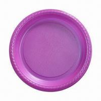 Wholesale Disposable Dinnerware/Plate, Various Sizes Available and Ideal for Promotions from china suppliers
