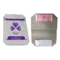 Buy cheap Colorful Printing Woven Polypropylene Cement Bags , PP Bags For Cement Packing from wholesalers
