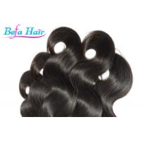 Wholesale Eurasian Virgin Hair Natural Color Human Hair Weft Body Wave Steam Processed from china suppliers