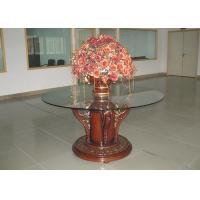 Wholesale Wooden Lobby Furniture Sets Mahogany Round Modern Wood End Tables from china suppliers