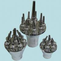 Quality SS304 Direct Up Fountain Nozzles, Glass Clear and Relatively Wind Stable for sale