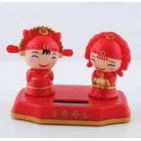 Wholesale CAR couples married solar doll from china suppliers
