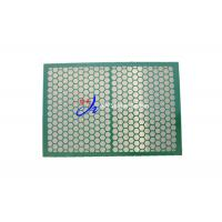 Buy cheap Replacement FSI Shaker Screen Oil Drilling Mud Cleaning 1067*737 Mm from wholesalers