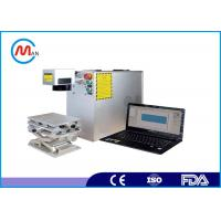 Wholesale Desktop fiber Laser Marking Machine , IPG Laser Engraving Machine For Metal Materials from china suppliers