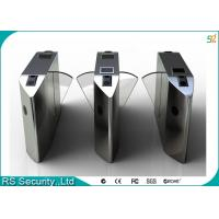 Wholesale Intelligent Retractable Flap Barrier Gate Wheelchair Or Luggage Turnstile from china suppliers