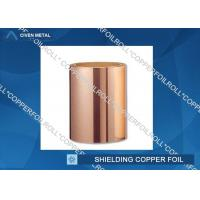 Wholesale Customized Red RA Copper Foil For Shielding , rolled copper foil sheet from china suppliers