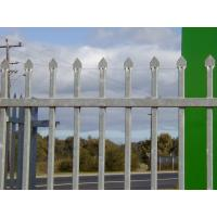 Wholesale Chinese best quailty powder coating black garrison fence from china suppliers