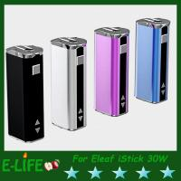 Wholesale Eleaf iStick 30W Mod Battery With OLED Screen Ismoka iStick 2200mah E Cigarette Battery from china suppliers