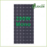 Wholesale 290W 36V Monocrystalline Solar Panels IEC61215 / IEC61730 , Safety Class II from china suppliers