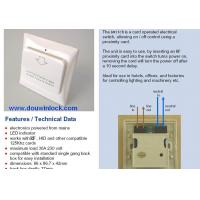 Quality hotel enrgy saving switch for sale
