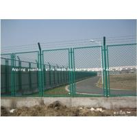 Buy cheap Pvc Coated Steel Wire Mesh Security Fencing Grid Structure Concise Stadium Expanded from wholesalers