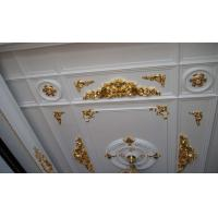 Wholesale White PU Decorative Cabinet Crown Moulding Line for Plain Panel from china suppliers