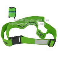 Wholesale Imprinted polyester luggage wrapped belt lanyards, suitcase security belt lanyards, from china suppliers