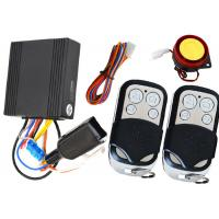 Wholesale 1 Way Motorbike Alarm System Motorcycle Immobilizer With Remote Sound Mute Arm / Disarm Feature from china suppliers
