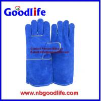 Wholesale Leather Welding Gloves Safety Tig working Gloves from china suppliers