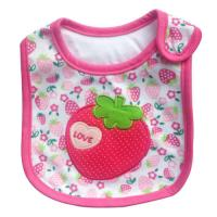 Wholesale Personalised Strawberry Newborn Baby Girl Bibs Anti Bacterial from china suppliers