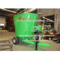 Wholesale 12 Cubic Meter Mobile TMR Feed Mixer Machine For Mixing Hay / Grass / Green from china suppliers