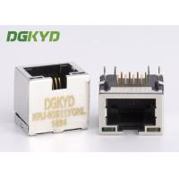 Wholesale Ultra Low 11.5mm Height Shield Rj45 Ethernet Jack Connector With Y/G LEDs from china suppliers