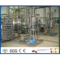 Wholesale 1000 - 100000LPH Ultra High Temperature UHT Milk Processing Line With Aseptic Package from china suppliers