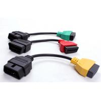 Wholesale 3 Color Fiat Ecu Scan OBD Adaptors Fiat Connect Cable from china suppliers
