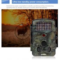 Quality Concealment Wildlife Night Vision Motion Activated Camera Automatically Take Pictures for sale