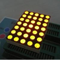 Wholesale 5mm 5x7 Dot Matrix Led Display Ultra Bright Yellow Widely Used In Moving Signs from china suppliers