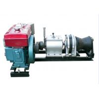 Wholesale Cable Pulling Winches 5 Ton Variable Speed Diesel Power Winch For Tower Erection from china suppliers