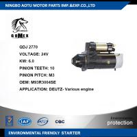 Wholesale DEUTZ- Engine Commercial Car Parts Auto Starter Motor M93R3004SE from china suppliers