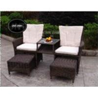 Wholesale Aluminium Rattan Wicker Outdoor Garden Chairs Loungers For Two Person from china suppliers