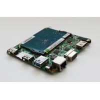 Quality Fanless Intel Cherry Trail Mini PC Board With WIFI And RJ45 Lan Port Supports Dual-display for sale