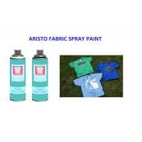 Washable  200ml Fabric Spray Paint Spray for T Shirt  UV Resistance and Fast Drying