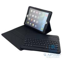 Wholesale Removable Bluetooth Keyboard with Leather Case Cover for iPad Air from china suppliers